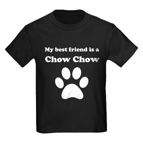 Chow Chow Best Friend Kids Dark T-Shirt