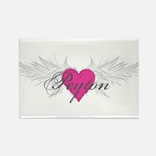 Peyton-angel-wings.png Rectangle Magnet