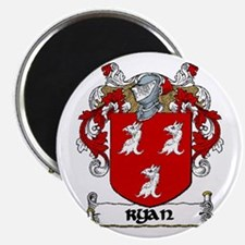Cute Ryan family crest Magnet