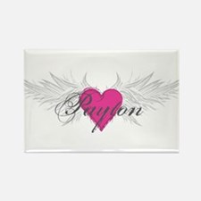 Payton-angel-wings.png Rectangle Magnet