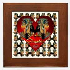 I Love Cleopatra Framed Tile