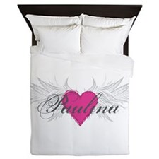 Paulina-angel-wings.png Queen Duvet
