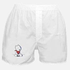 Pocket Westie Valentine Boxer Shorts