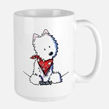 Pocket Westie Valentine Mug