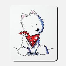 Pocket Westie Valentine Mousepad