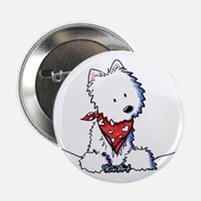 "Pocket Westie Valentine 2.25"" Button"
