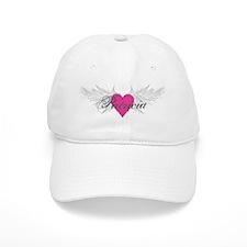 Patricia-angel-wings.png Baseball Cap