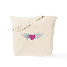 Patricia-angel-wings.png Tote Bag