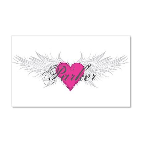 Parker-angel-wings.png Car Magnet 20 x 12