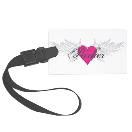 Parker-angel-wings.png Large Luggage Tag