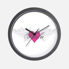 Paola-angel-wings.png Wall Clock
