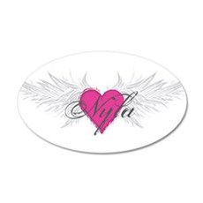 Nyla-angel-wings.png Wall Decal
