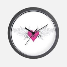Nora-angel-wings.png Wall Clock