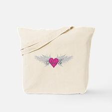Noelle-angel-wings.png Tote Bag