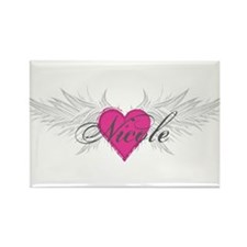 Nicole-angel-wings.png Rectangle Magnet (10 pack)