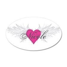 Nicole-angel-wings.png Wall Decal