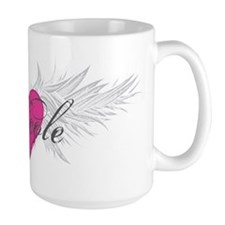 Nicole-angel-wings.png Ceramic Mugs