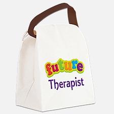 Future Therapist Canvas Lunch Bag