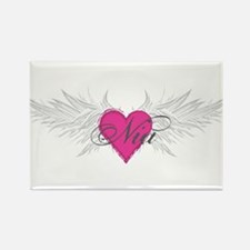 Nia-angel-wings.png Rectangle Magnet