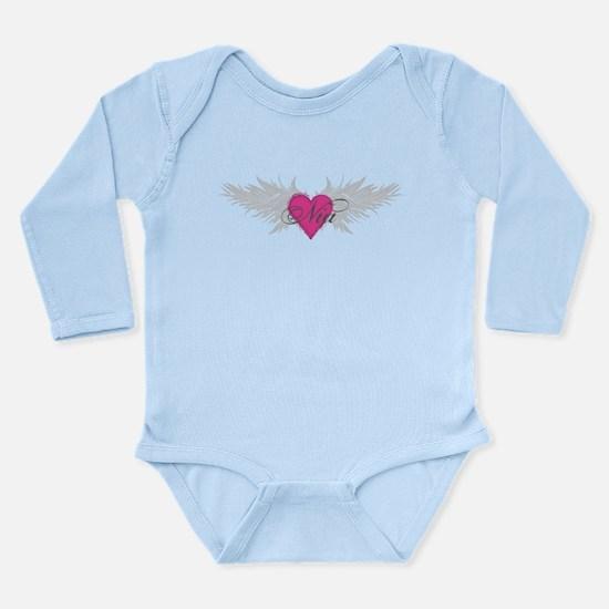Nia-angel-wings.png Long Sleeve Infant Bodysuit