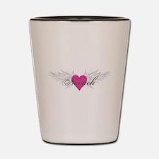 Nevaeh-angel-wings.png Shot Glass