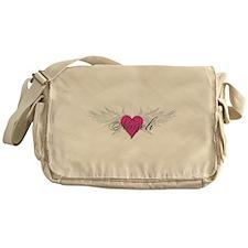 Nayeli-angel-wings.png Messenger Bag
