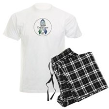Adrenal Cortical Cancer Awareness Pajamas
