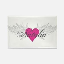 Natalia-angel-wings.png Rectangle Magnet