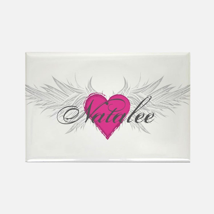 Natalee-angel-wings.png Rectangle Magnet