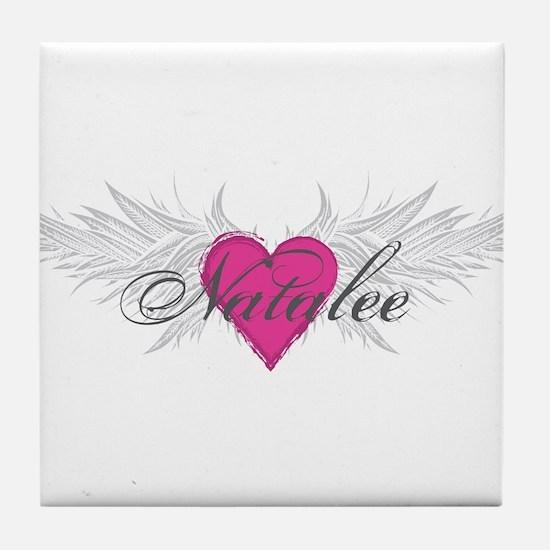 Natalee-angel-wings.png Tile Coaster