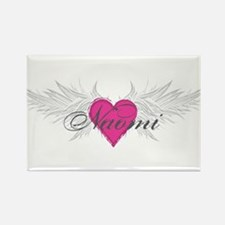 Naomi-angel-wings.png Rectangle Magnet
