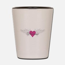 Naomi-angel-wings.png Shot Glass