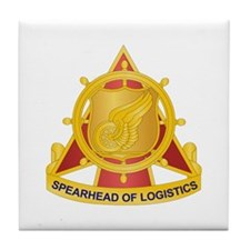 Transportation Corps Tile Coaster