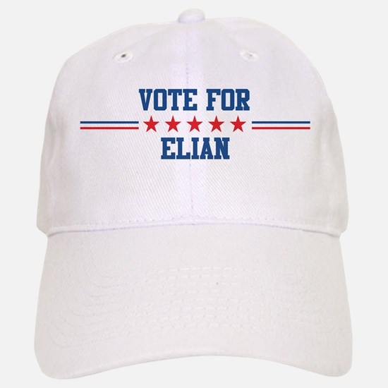 Vote for ELIAN Baseball Baseball Cap