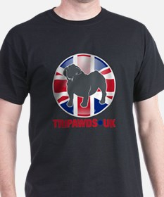 Tripawds UK Flag T-Shirt