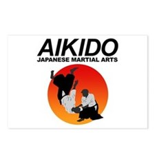 Aikido 3 Postcards (Package of 8)