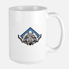 Strongman With Dumbbell In Chains Mug