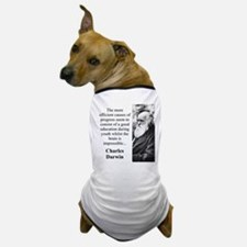 The More Efficient Causes - Charles Darwin Dog T-S