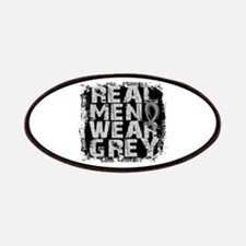 Real Men Brain Tumor Patches