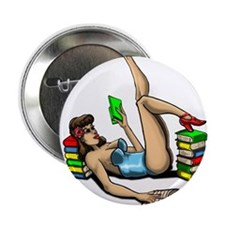 """PIN UP 2.25"""" Button"""
