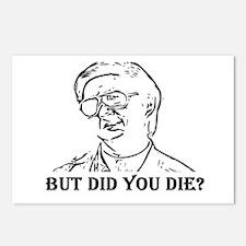 BUT DID YOU DIE Postcards (Package of 8)