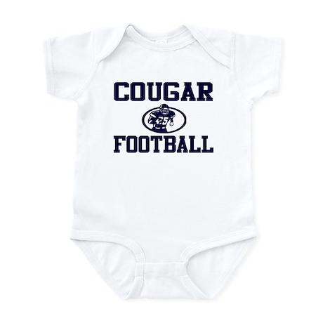 """COUGAR """"ROCKET"""" NAVY Infant Bodysuit"""