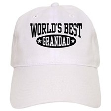 World's Best Grandad Baseball Cap