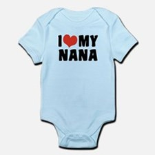 I Love My Nana Infant Bodysuit