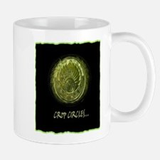 cropcircle art illustration Mug