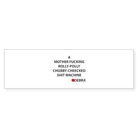 Dexter Debra Quote Sticker (Bumper)