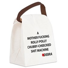 Dexter Debra Quote Canvas Lunch Bag