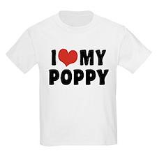 I Love My Poppy T-Shirt