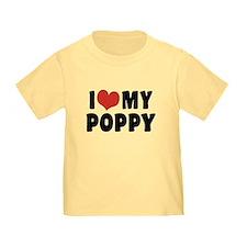 I Love My Poppy T