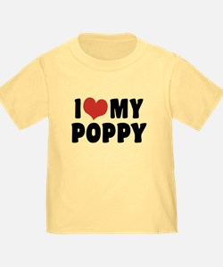 I Love My Poppy T
